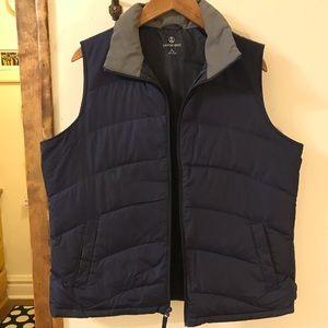 Lands' End puff vest